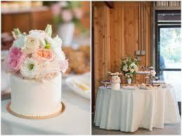 Pastel Rustic Wedding Cake
