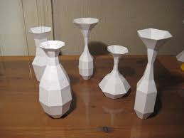 Picture Of How To Make A Paper Vase Without Curves