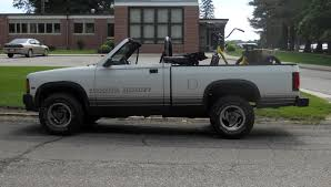 AutomoZeal: Dodge Dakota Sport Convertible Truck