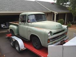 1957 Dodge Pickups D100 Shortbed Stepside For Sale 10 Facts About The Dodge D100 Sweptside Truck Dodgeforum Vintage Trucks For Sale 1957 Power Wagon W100i Want To Rebuild A Truck With My Boys 1945 Halfton Pickup Article William Horton Photography 2164711 Hemmings Motor News First Voyage 1956 Dodge Youtube Gmc 4x4 83735 Mcg Dw Near Cadillac Michigan 49601 Moparjoel 100 Specs Photos Modification Info At Dodge Detroits Old Diehards Go Everywh Daily