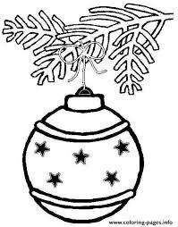 Print Printable S Christmas Ornament Starsaa8c Coloring Pages