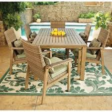 Sams Patio Dining Sets by Santa Monica 7 Piece Dining Set With Premium Sunbrella Fabrics