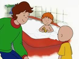 caillou in the bathtub ytp tubethevote