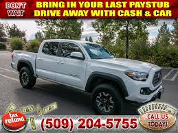 100 Sport Truck Rv PreOwned 2018 Toyota Tacoma TRD SPORT 35L V6 4x4 Double Cab