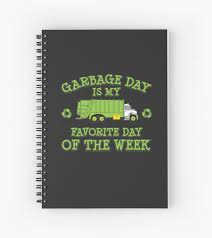 Garbage Day Truck Kids And Adult Trash Garbage Truck Gift