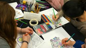 The Real Art Therapists Of New York Coloring Book And A Group Bar