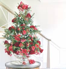 Tabletop Christmas Tree Floral
