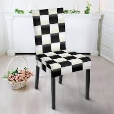 Checkered Flag Print Pattern Dining Chair Slip Cover Summerhill Collection Velvet Plush Ding Chair Covers 3d Pattern Spandex Stretch Short Seat Slipcovers Pique Slipcover Trendy Slipcover Removable Cover Yisun Tile Good Looking Black Cushions For Room Chairs Chair Banquet Ding Covers Table Home Design Ideas How To Make Out Of Pillowcases Simplicity Interesting Leather Details About 2pcs Onepiece Pu Lace Waterproof E7t6