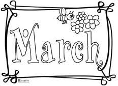 Attractive Design March Coloring Pages Printable Page Pdf To Print For Kindergarten