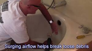 Unclogging Bathtub Drain Hair by How To Clear A Bathtub Drain With A Shop Vac Youtube