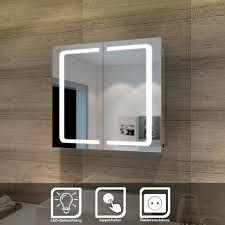 sonni 70x65x13cm 2 türig spiegelschrank mit led beleuchtung und steckdose gtbc007k a gtbc007k b