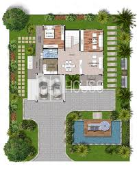 104 Contemporary House Design Plans Modern 16x20 With 3 Bedrooms Small