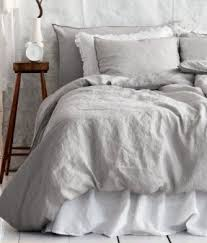 Grey And White Bedding VisualizeUs