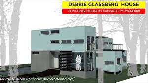 100 Kansas City Shipping Debbie Glassberg Container House By BNIM Architects 5937 Charlotte St MO