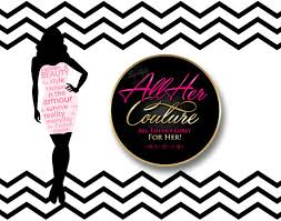 Fashion Couture Logo Design Round Text In Pink And Gold