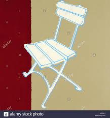 100 Folding Chair Art CHAIR FOLDING CHAIR BEER GARDEN POP ART 1 Stock Photo 188816254 Alamy