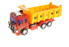 Buy PowerTRC Big Dump Truck Toy For Kids With Friction Power In ...