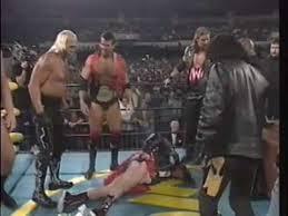 Halloween Havoc 1997 Hogan Fan by Hogan Piper Contract Signing For Starrcade U002796 2 2 Youtube