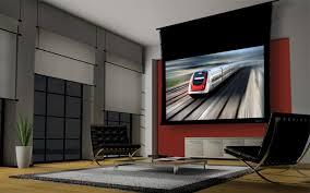 visionary motorized screen by stewart filmscreen