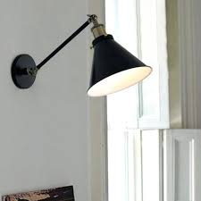 l shade wall sconce vintage style black bronze iron copper