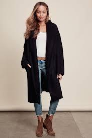 memdalet women u0027s long cardigan coat coatigan black wine