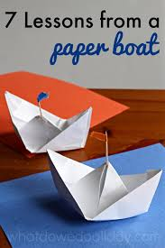 7 Lessons Learned While Making Paper Boats
