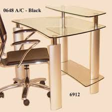 Tempered Glass Computer Desk by Inexpensive Darby Home Co Clintonville Computer Desk Excellence Price