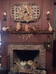 Primitive Decorating Ideas For Fireplace by Early American Colonial Interiors Americana Decorating Style