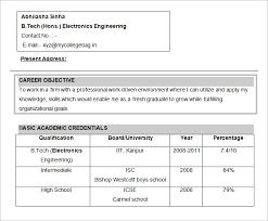 basic objectives for resumes resume objectives 46 free sle exle format