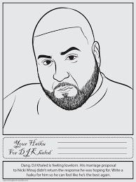 DJ Khaled Bun B Rap Coloring Book