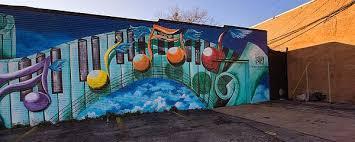 awesome mural in deep ellum daveeda joplin photography