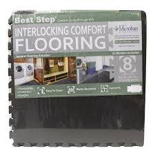 12x12 Ceiling Tiles Walmart by Amazon Com Best Step Interlocking Comfort Flooring 8 Pack Plus