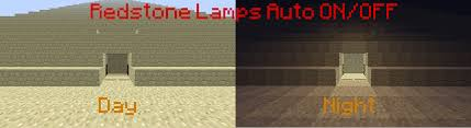 Redstone Lamp Minecraft 18 by Redstone Lamp Auto On Off