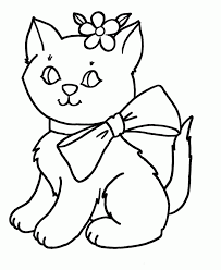 Trends Coloring Cat Printable Pages At Color