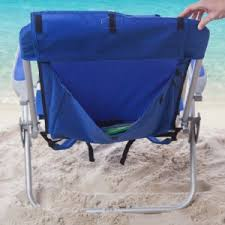 Rio Gear Backpack Chair Blue by Rio Brands Beach Chairs Hayneedle