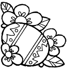 Beatuiful Easter Coloring Pages