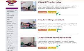UPW Pilates Video Workout Videos