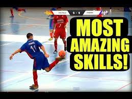 technique de foot en salle the best football futsal freestyle skills hd