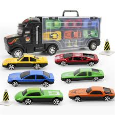 100 Toy Car Carrier Truck Transport Rier Includes 6 S And 28 Slots