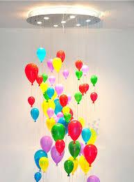bunte glas ballon decken leuchte led treppe kronleuchter für kinderzimmer kindergarten bekleidungs geschäft home decor beleuchtung buy decke le