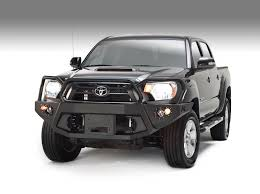 100 Truck Front Bumpers FabFour Winch Mount Bumper For 20122015 Tacoma