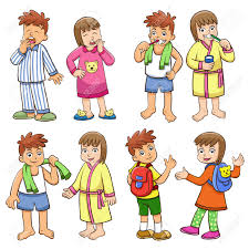 Morning Clipart Daily Activity 68