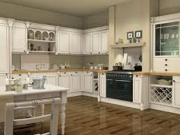 kitchen colors with white cabinets light brown wooden kitchen