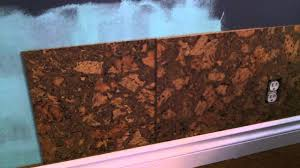 cork wall tile installation how to