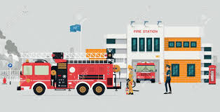 Fire Station With Fireman And Fire Truck With Gray Background ... Firemantruckkids City Of Duncanville Texas Usa Kids Want To Be Fire Fighter Profession With Fireman Truck As Happy Funny Cartoon Smiling Stock Illustration Amazoncom Matchbox Big Boots Blaze Brigade Vehicle Dz License For Refighters Sensory Areas Service Paths To Literacy Pedal Car Design By Bd Burke Decor Party Ideas Theme Firefighter Or Vector Art More Cogo 845pcs Station Large Building Blocks Brick Fire