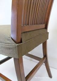 Splendid Seat Cover For Dining Chair Clean Simple Wrap Around Design That Fits Snugly Legs With Velcro This Would Be To Make By Altering