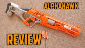 nerf accustrike alphahawk unboxing review range test