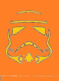 Stormtrooper Stencil Halloween by Lumpy Space Princess Pumpkin Stencil Halloween Pinterest