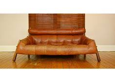 Percival Lafer Brazilian Leather Sofa by Vintage Brazilian Leather Lounge Chair By Percival Lafer Image 2