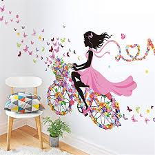 stickers muraux pour chambre meihuida sticker mural pour chambre de fille motif https
